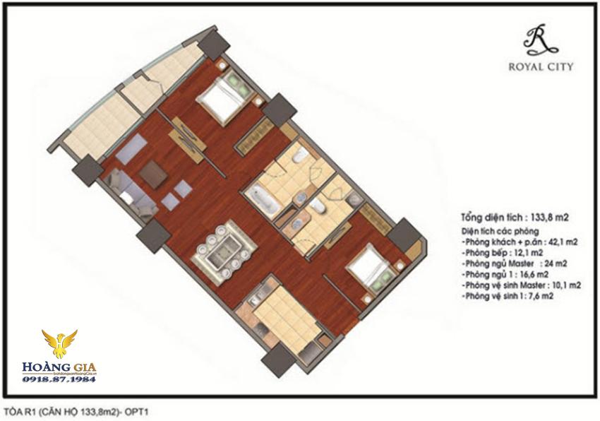 Căn hộ số 19 Vinhomes Royal City