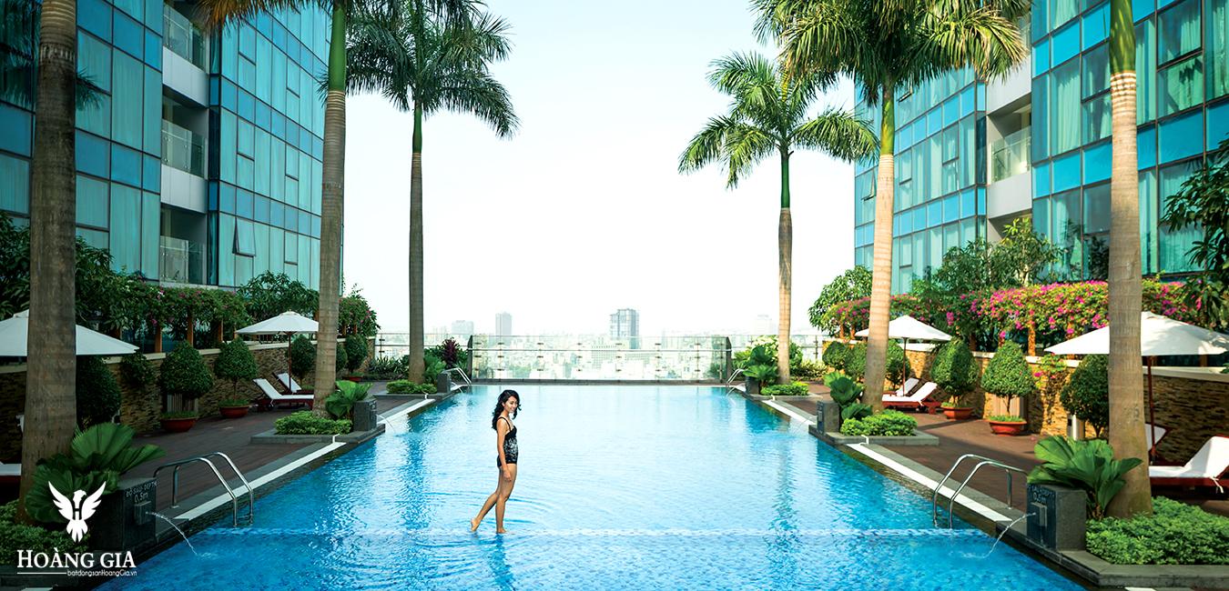 Bể bơi Vinhomes Đồng Khởi
