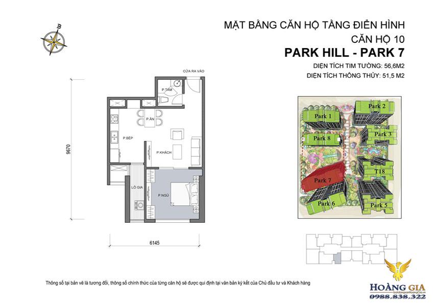 Căn hộ số 10 Vinhomes Times City – Park Hill