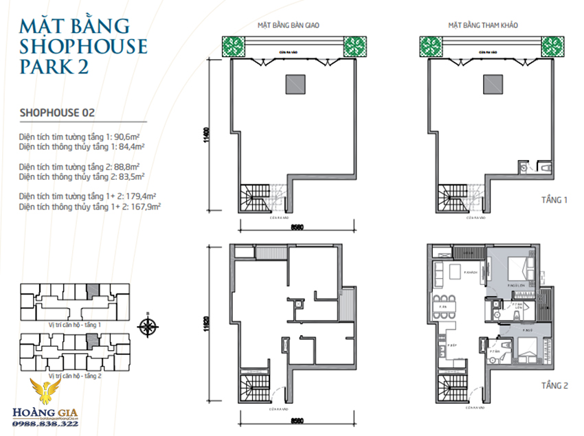 Shophouse 02 Vinhomes Times City - Park Hill