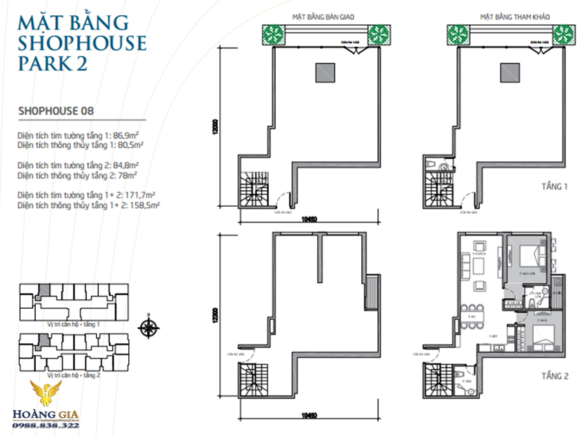 Shophouse 08 Vinhomes Times City - Park Hill