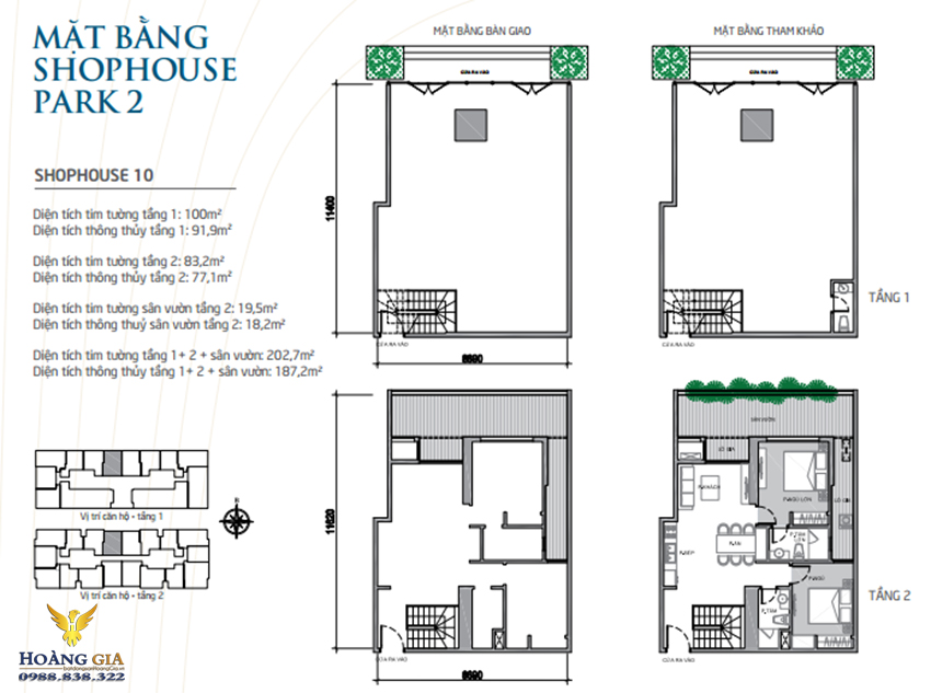 Shophouse 10 Vinhomes Times City - Park Hill