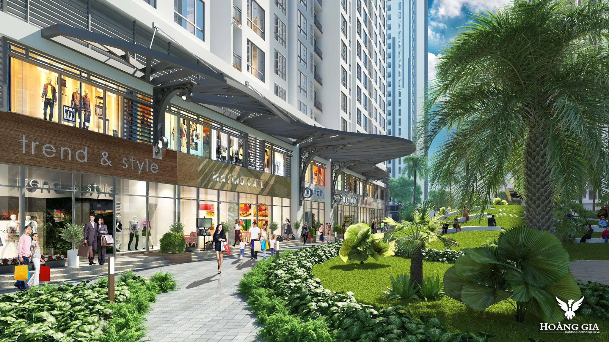 Shophouse Vinhomes Times City Park Hill Premium