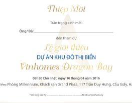 Lễ giới thiệu dự án Vinhomes Dragon Bay